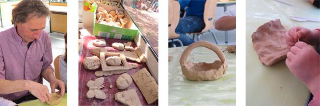 Atelier poterie pour les enfants