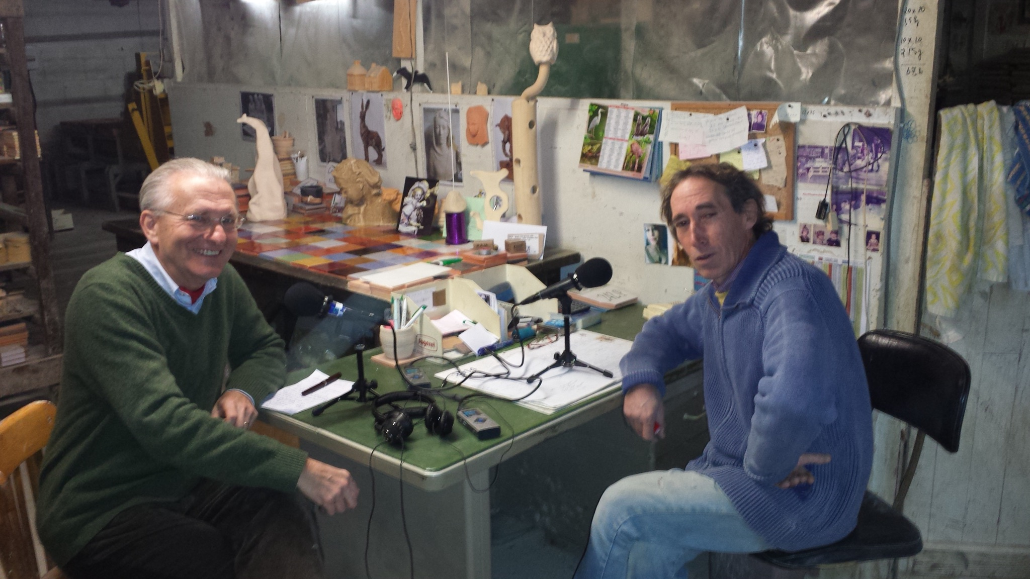 Atelier Caballero sur RCF